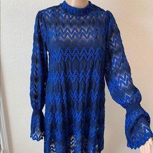 NWT Free People Boho Lace Dress